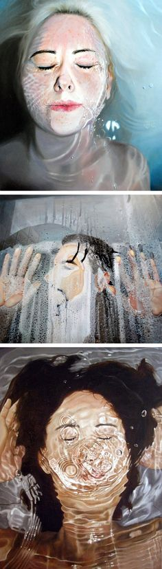 Paintings by Linnea Strid