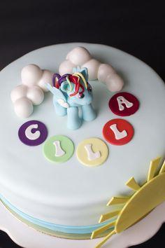 Rainbow Dash tårta | Bakverk och Fikastunder