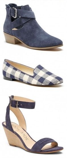 Blue Shoes, Booties, Flats, Sandals, Wedges, and More! Click to see the new arrivals...