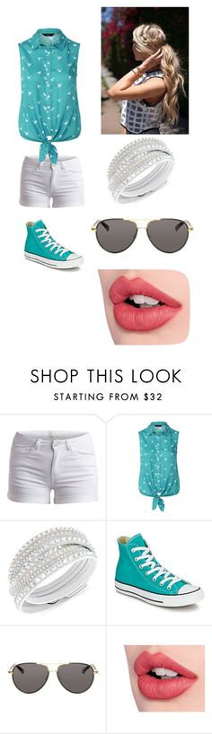 """Fan fic"" by crazycandy202 ❤ liked on Polyvore featuring Pieces, Swarovski, Converse, The Row and Charlotte Tilbury"