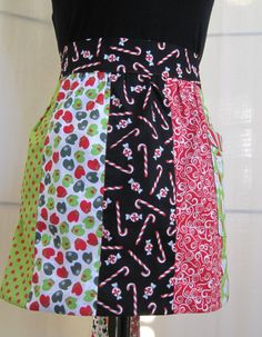 Creative Holiday Apron by MitzieAprons4u, listed on Etsy.com.