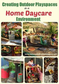 I love these outdoor Ideas...... must revisit soon! Outdoor Playspaces & Activities for Home Educators - Mummy Musings and Mayhem