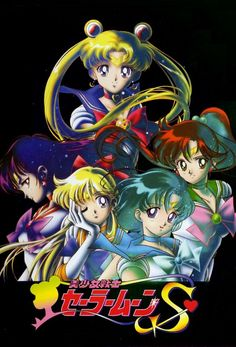 Sailor Moon and the inner Senshi