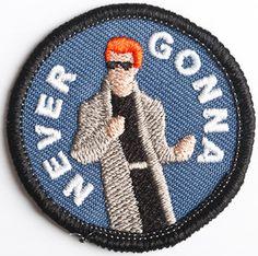 RickRoll'd Merit Badge