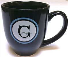 Jackson Galaxy coffee mug.   Holds a full 16 oz.  That's my kinda mug!