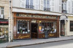 """Owen Wilson's character met Ernest Hemingway here, called Le Polidor, in """"Midnight in Paris. Limousin, Kansas City Barbeque, One Day In Paris, Love Cafe, Houston Street, Atlanta Restaurants, A Moveable Feast, Paris Food, Tokyo Hotels"""