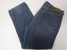 Levis Mens 236 Denizen Regular Fit Blue Jeans 42x30 42/30 FREE SHIPPING 820