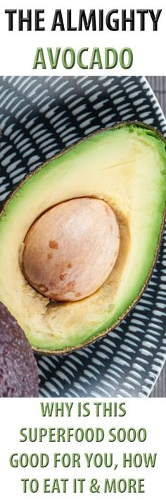 How to eat an avocado, which includes a demo of its preparation, and sharing about the fruit's amazing nutritional benefits, buying tips, storing, meal ideas and more.... #avocado #superfood #nutrition #nutritiontips #health #healthyeating