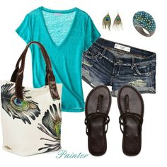 Fashion Obsession   50 Shades of Blue-Greens   Style Trends [Click to See More...]