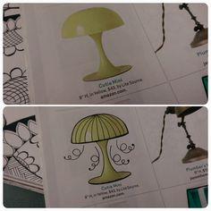 Magazine doodling by Heidi Denney