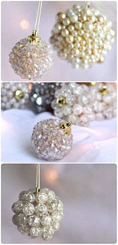 Christmas DIY ● Tutorial ● Ornaments Or bigger version and hang over doorway or entryway or dinner table