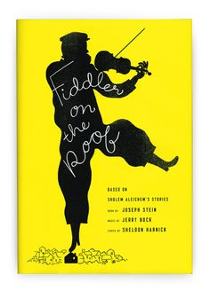 A book jacket for Fiddler on the Roof, published by Crown. Big Thanks to Chris Brand for the gig!