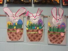 Easter craft for kids. Easter Craft Activities, Easter Arts And Crafts, Spring Crafts, Preschool Crafts, Holiday Crafts, Cute Kids Crafts, Toddler Crafts, Hoppy Easter, Easter Bunny
