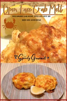 Crab season is just about here and if you are looking for the best crab recipes, we've got you covered! Here is a really easy crab melt recipe that just has a few ingredients. If you like crab meat with melted cheese on top of an english muffin, you will love this one. There are a few .other ingredients of course too. It is a great seafood lunch recipe for hosting a ladies lunch, or even a perfect crab recipe for brunch! Crab Recipes | Crab Melt @EightyMPHMom Crab Recipes, Entree Recipes, Brunch Recipes, Gourmet Recipes, Appetizer Recipes, Appetizers, Crab Melt Sandwich Recipe, Crab Sandwich, Sandwich Recipes