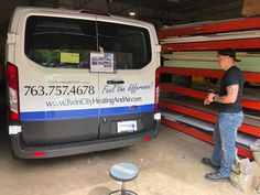 Adding a fifth van to their fleet, we are happy to be wrapping another van for Twin Cities Heating & Air. Twin Cities, Sign Design, Minneapolis, Signage, Wrapping, Van, Feelings, Happy, Billboard