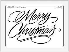 christmas stencils - Google Search