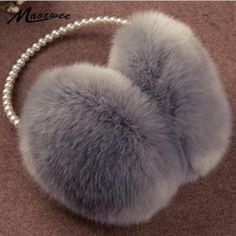 Lucky No.62 Number Name Winter Warm Ear Muffs Faux Fur Ear