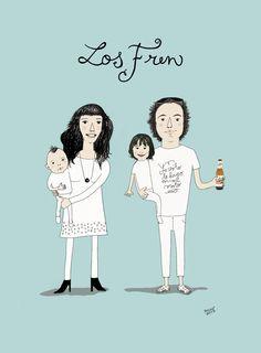 """""""Los Frens"""" Retrato de familia by #LaMariola_DelaO*"""
