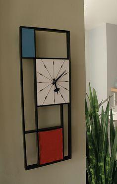 1960's Sunbeam Mondrian Clock