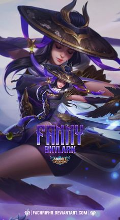 Fanny Skylark by FachriFHR on DeviantArt Mobile Wallpaper Android, Mobile Legend Wallpaper, Hero Wallpaper, Custom Wallpaper, Miya Mobile Legends, Moba Legends, Alucard Mobile Legends, Naruto Minato, Joker Poster