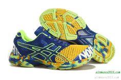 Asics Gel Noosa Tri 7 For Men Yellow Navy Blue Volt
