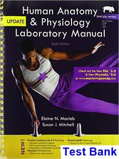 Human anatomy physiology 9th edition pdf download httpwww test bank for human anatomy and physiology laboratory manual fetal pig version update 10th edition by fandeluxe Image collections