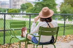 Fall in Paris x Jardin des Tuileries
