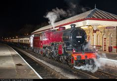 RailPictures.Net Photo: 13065 London Midland and Scottish Railway Steam 2-6-0 at Ramsbottom, United Kingdom by Graham Williams