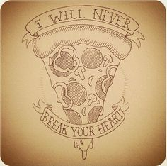 Pizza, art, tattoo,   www.dripcult.com