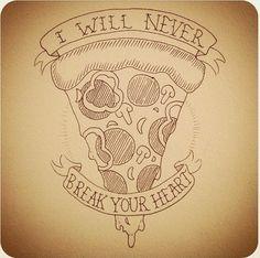 Pizza, art, tattoo,   www.dripcult.com