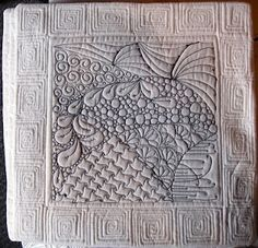 I love quilts!! Some one make this for me! : ) Zentangle Quilting