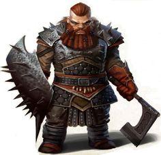 Mercenario Lixter Fantasy Dwarf, Fantasy Rpg, Medieval Fantasy, Fantasy Races, High Fantasy, Fantasy Warrior, Dungeons And Dragons Characters, Dnd Characters, Fantasy Characters