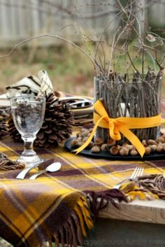 fall picnic weddings | fall wedding fall autumn woods forest nature hippie