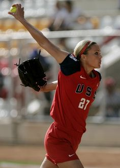 Jennie finch is one of my top 3 favorite softball players:)