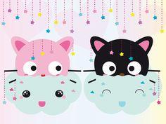 dreamy.cats. by meow-mau-mau.deviantart.com on @deviantART