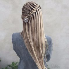Incredibly beautiful braids for the Christmas party ★ See also-Unglaublich schöne Zöpfe für die Weihnachtsfeier ★ Siehe auch: loveha – New Site Incredibly beautiful braids for the Christmas party ★ See also: loveha – refer party - Pretty Braided Hairstyles, Box Braids Hairstyles, Girl Hairstyles, Wedding Hairstyles, Braided Updo, Pirate Hairstyles, Hair Plaits, Edgy Updo, Choppy Hairstyles