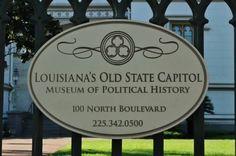Louisiana Old State Capital in Baton Rouge, La.