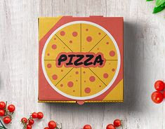 The idea behind this creative packaging design is to give the pizza box a retro look and feel. Box Packaging, Packaging Design, Pizza Boxes, Retro Look, Behance, Graphic Design, Gallery, Creative, Check