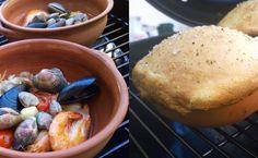 Scoglio al coccio in crosta di pane