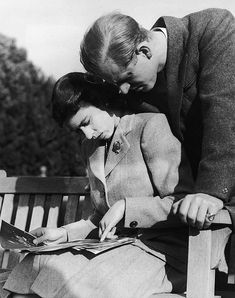 """To have been spared in the war and seen victory, to have been given the chance to rest and to re-adjust myself, to have fallen in love completely and unreservedly, makes all one's personal and even the world's troubles seem small and petty"" - Prince Philip to Princess Elizabeth"