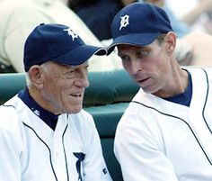 Sparkey Anderson and Alan Trammell I just loved watching Sparkey manage during a game.