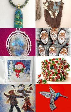 Holiday Gift Ideas by Pam on Etsy--Pinned with TreasuryPin.com