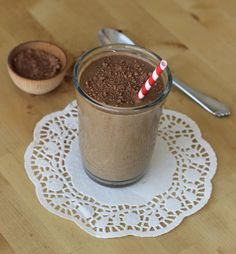 "Meaningful Eats: Chocolate Banana Avocado ""Milkshake"" {Gluten-Free, Dairy-Free}"