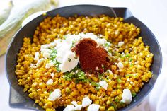 Esquites, or Mexican Corn Salad, is the side dish version of elote and is a fantastically flavorful way to enjoy fresh corn! Sandwich Sauces, Bbq Sandwich, Sandwiches, Corn Salad Recipes, Corn Salads, Skillet Chicken, Chicken Casserole, Corn Dishes, Side Dishes
