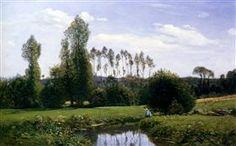 View At Rouelles Le Havre - Claude Monet