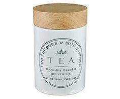 Tarro con tapa Tea