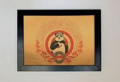 Panda Revolution  A4  by xiaobaosg on Etsy, $30.00