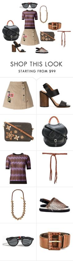 """""""SUMMER STYLE"""" by ramakumari ❤ liked on Polyvore featuring Mr & Mrs Italy, Givenchy, MICHAEL Michael Kors, Maison Margiela, Marni, Forte Forte, Weekend Max Mara, Orlebar Brown, Prada and summerstyle"""