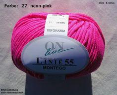 100 g Wolle ONLine Linie 55 Montego, Fb. 27 neonpink Montego https://www.amazon.de/dp/B0074ODY76/ref=cm_sw_r_pi_dp_x_K4.aAbJ5WS8QE
