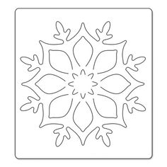 me ~ Sizzix Bigz Die - Snowflake Ornament Christmas Makes, Felt Christmas, Christmas Colors, Christmas Decorations, Christmas Ornaments, Felt Crafts, Diy And Crafts, Paper Crafts, Kirigami